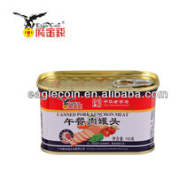 high quality canned pork luncheon meat