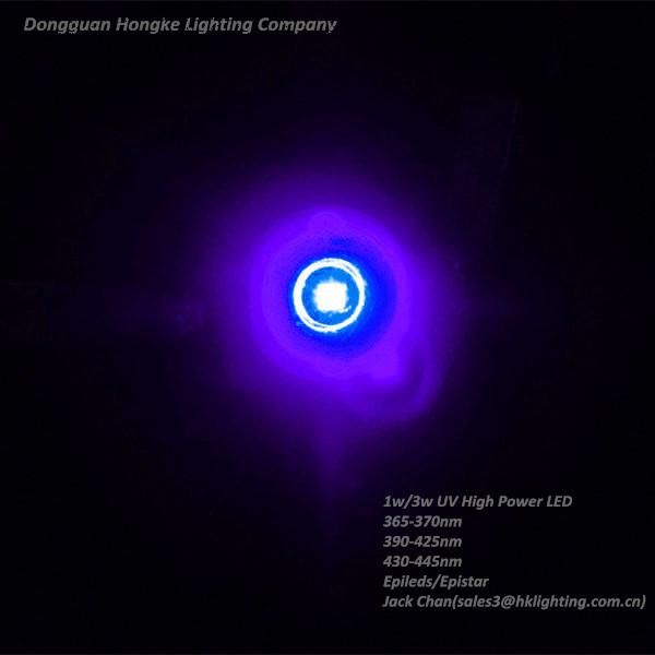 Dongguan Hongke UV Ink Curing System 365nm LED 1W