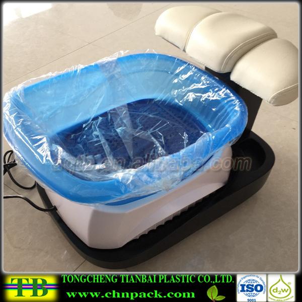 Personalizado de pl stico transparente descart vel for Acrylic tub liner
