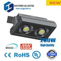 2014 high power super bright led flood light 200W led flood light outdoor led flood light MW driver 3 Years warranty