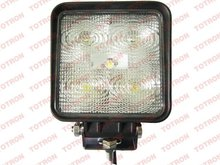 """2012 hottest product! 4"""" 15W square LED work lamp for truck, agricultural vehicles, ATV, SUV flood and spot beam available"""