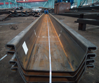 Larsen Steel Sheet Pile High Strength concrete sheet pile