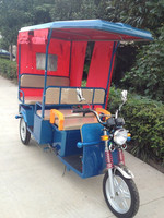 Electric tricycle e rickshaw for Indian market