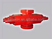 API 16A 15000 psi flanged double ram forging Bop/Blowout Preventer for well drilling