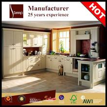 2015 prefab modern design kitchen in fine quality kitchen cabinet manufacturer