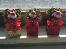 YUWU Caddy SDZS-101 Handmade Christmas Ornaments Items Old man sunflower hanging drop Christmas ornaments