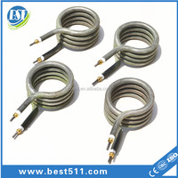 Water Immersion Heaters tubular stainless steel heating element 300w