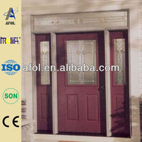 Afol particular half lite steel entry door