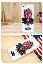 Star Wars New Design Darth Maul Hard phone Case Cover Skin For Cell Phone 5
