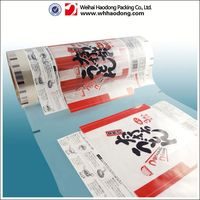 high quality laminated plastic film recycled metalized plastic film