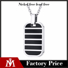 Fashion Design Stainless Steel Custom Dog Tag Necklace Mens Silver Charm Cool Jewelry
