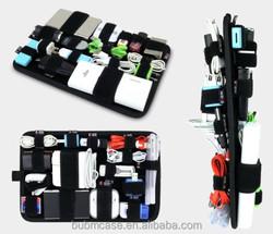 BUBM DIY velcro reception bag Multi-purpose Auto Car Sun Visor Organizer Storage Holder Pouch Bag