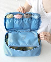 Manufacturers selling multifunctional travel bag bra underwear bag portable toiletry bag