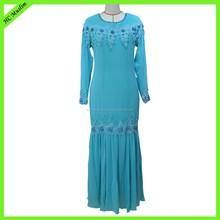 2015 new fashion design islamic clothing modern baju kurung and baju kebaya