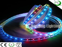 CE RoHS Waterproof LED rgb light strip magic strips lighting