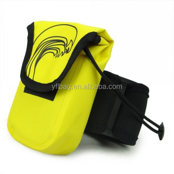 waterproof dslr camera bag with armband for carry the digital camera or mobile phone