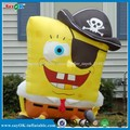 pirata halloween inflables de dibujos animados bob esponja para la venta