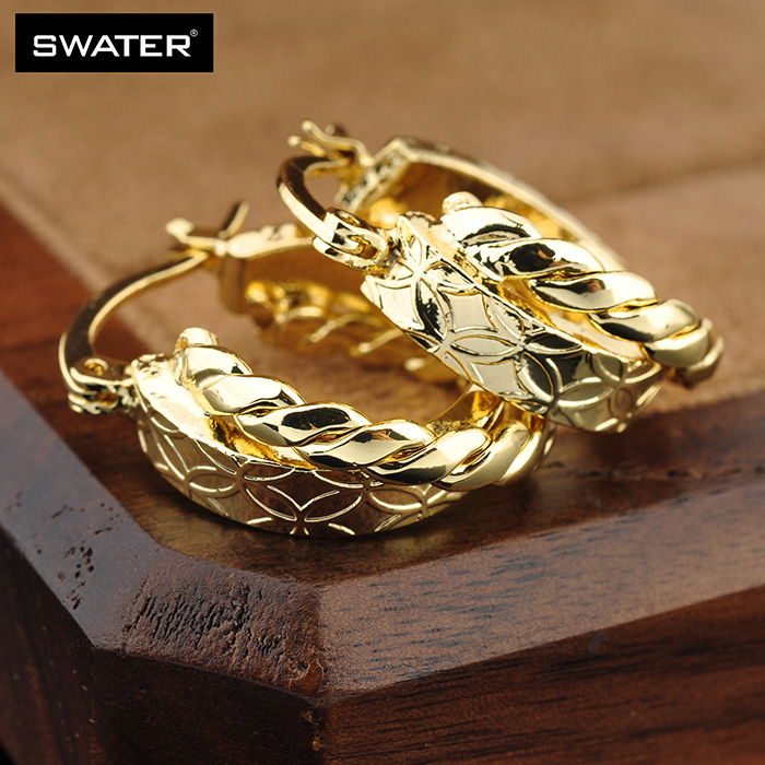 New Products 2018 Newest Design Cheap Plated 4 Gram Gold Earrings