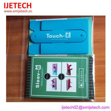 new silicone cell phone sticker card holder