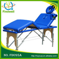 New Cheap Aluminium Folded Medical Therapeutic massage table/short massage table