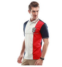 Man lapel polo unlined upper garment of cotton American college spell color style