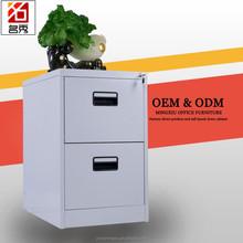 Factory price metal lockers 2 drawer grey storage cabinets