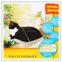Sunny Window Hanging Cat Hammock Bed with the Velcro Adhesives