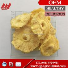 dried pineapple slice, hot sale sun sweet dried pineapple organic sale