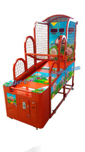 Luxury kids coin operated electronic basketball game