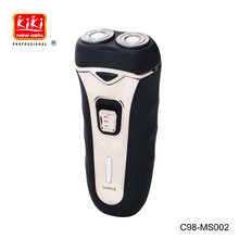 Rechargeable SHAVER.Two rotary foil heads shaver