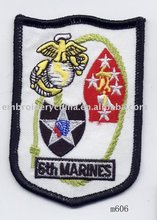 Embroidered Badge for Uniform