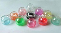 plastic empty toys capsules