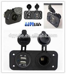 12V 24V 36V universal Car Cigarette Lighter Power Outlet Socket with Waterproof Cover