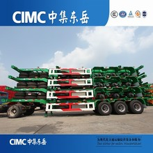 3 Axles CIMC Container Chassis, 40FT Skeleton Semi Trailer