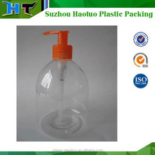 250ml PET Plastic Bottle for lotion and shampoo