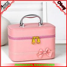 Pink Custom toiletry Makeup cosmetic Bag