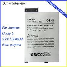 New Design LIANG MI 3.7V battery for Amazon Kindle, cheap 1830mAh battery for Amazon Kindle 3