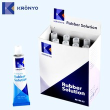KRONYO butyl rubber adhesive synthetic rubber base self rubber strip