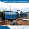CE, ISO and BV certificated waste tyre pyrolysis oil plant with no pollution