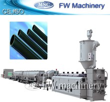 pipe production line pe water pipe production line