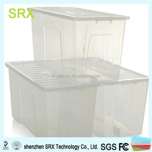 custom hot selling Crystal Plastic Storage Box & Lid maker in china