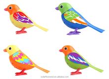 Sound control singing birds toy support ,new digi bird