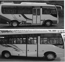 Dongfeng 60 seater large coach bus EQ6581