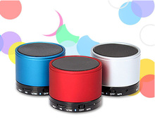Portable pill Mini Bluetooth Speakers Metal 3W Stereo Audio Wireless Speaker Subwoofer With MP3 Player SD Card free shipping