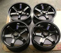 TE37 SL replica ally wheel 15 16 17 18 19 inch bronze matt black red