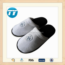 cheap hotel slippers spa luxury terry cloth thong slippers