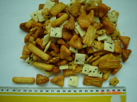 Japanese rice cracker, Mix rice crackers, Delicious Rice cracker snacks