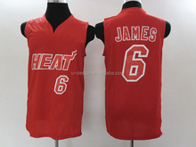 Top Quality Heat #6 LeBron James Jersey,Cheap Basketball Jersey
