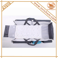 Hot Sell 600D Portable Baby Carry Cot Bag Baby Bed In Bag