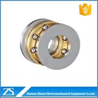 F4-9 F4-10 Mini Axial Brass Cage Thrust Ball Bearing